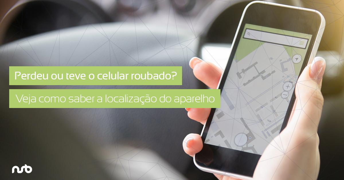 saber a localização de um celular