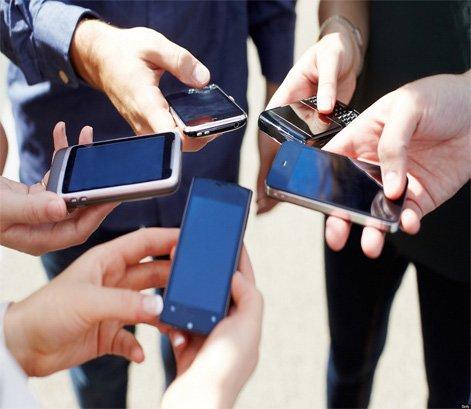 consumos dos celulares e smartphones