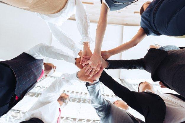 participação de cada colaborador